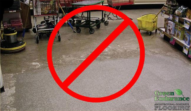 Green Endurance Flooring reduces maintenance costs.